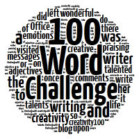 Wordle of 100 Word Challange
